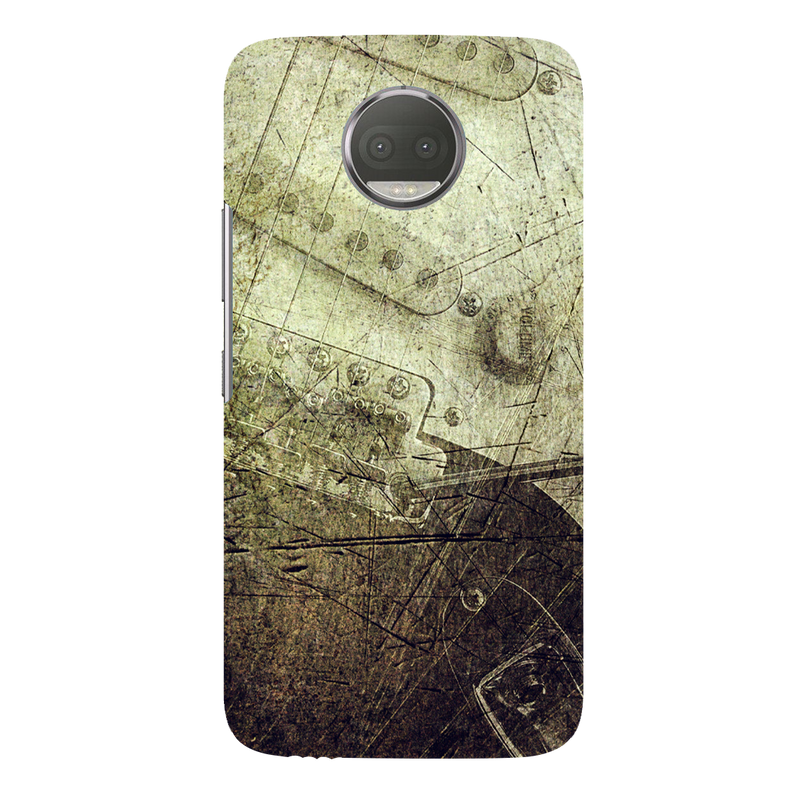 Guitar grunge moto G5s plus Mobile Cover