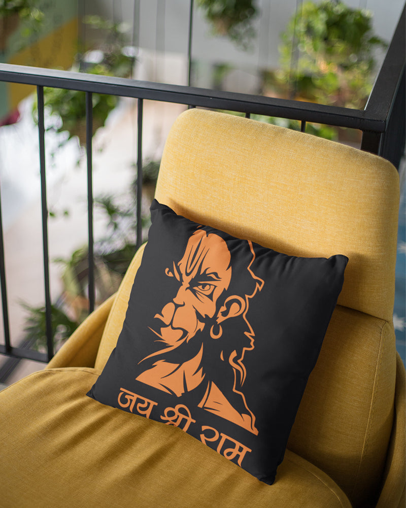 Hanuman Cushion Cover