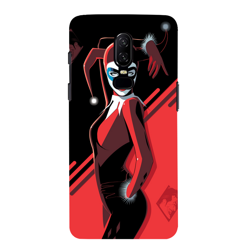 Harley Quinn OnePlus 6 Mobile Cover