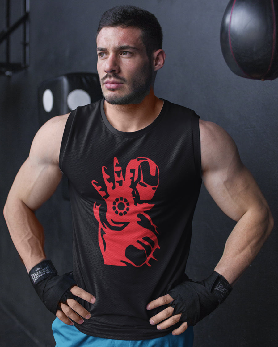 Iron Man Vector black Vest