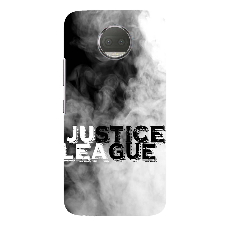 Justice league moto G5s plus Mobile Cover