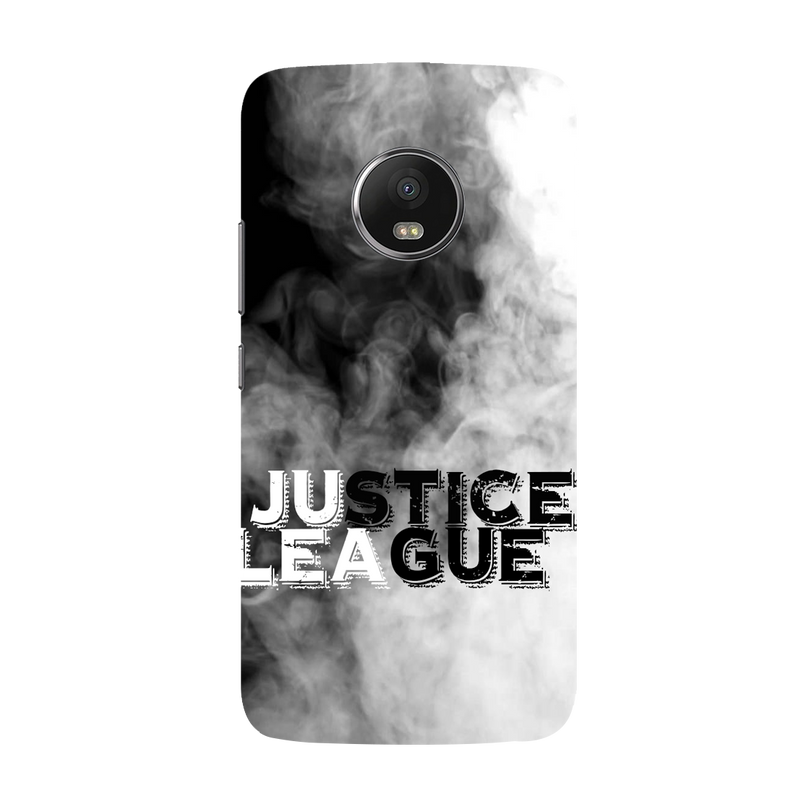 Justice league Moto G5 plus Mobile Cover