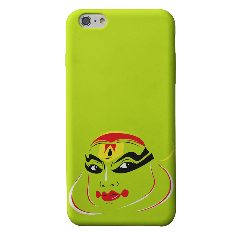 Kathakali vector face Iphone 6 plus Mobile Cover