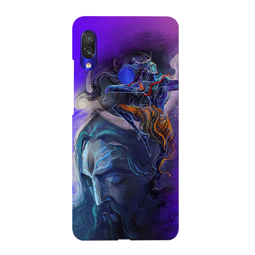 Lord Shiva Redmi Y3 Mobile Cover