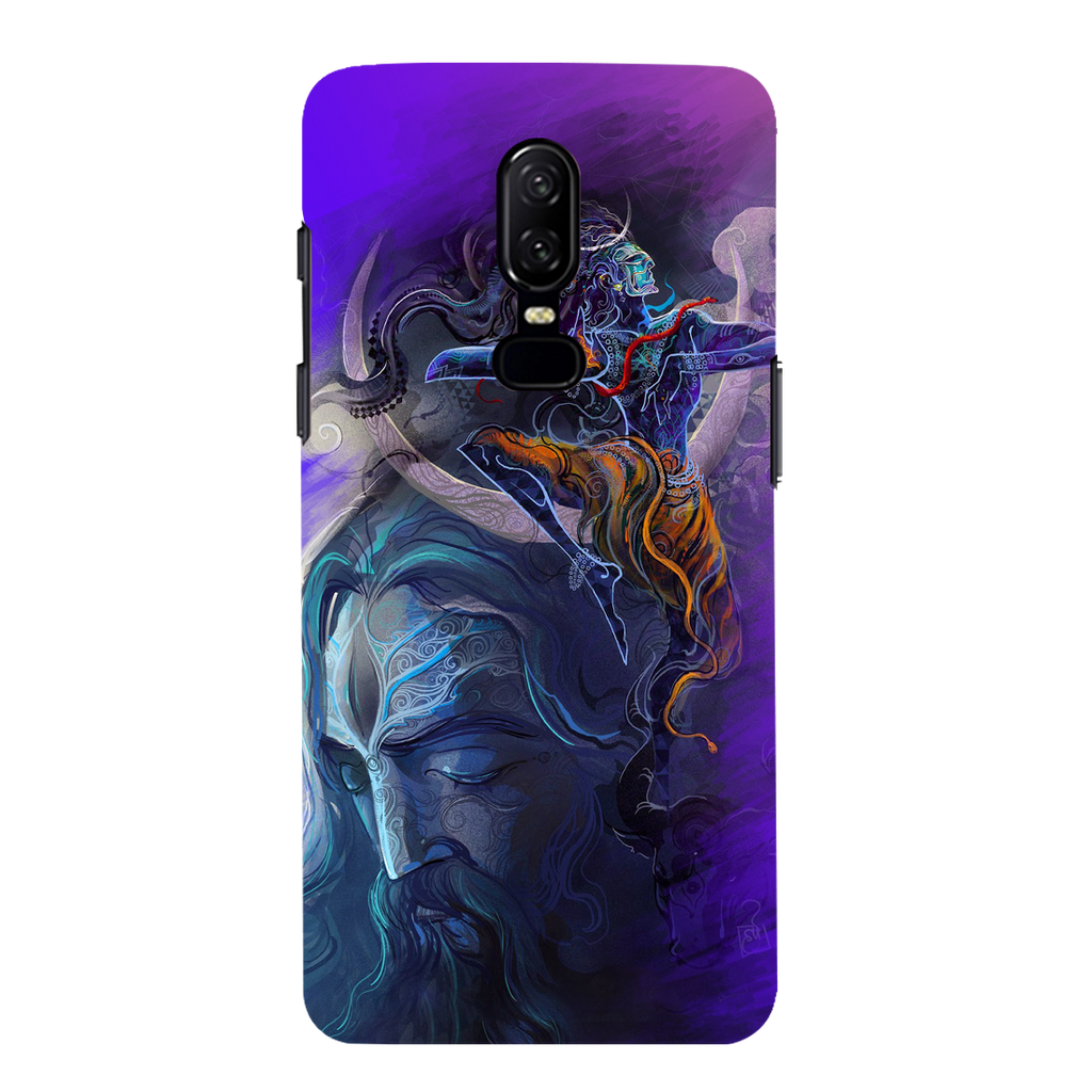 Lord Shiva OnePlus 6 Mobile Cover