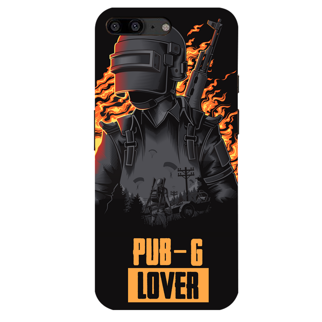 PUBG Lover OnePlus 5 Mobile Cover