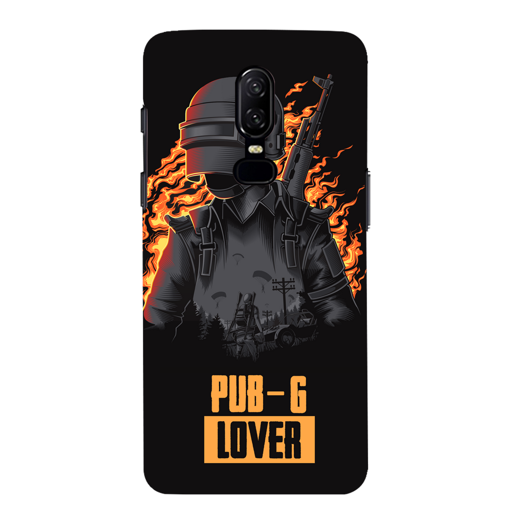 PUBG Lover OnePlus 6 Mobile Cover