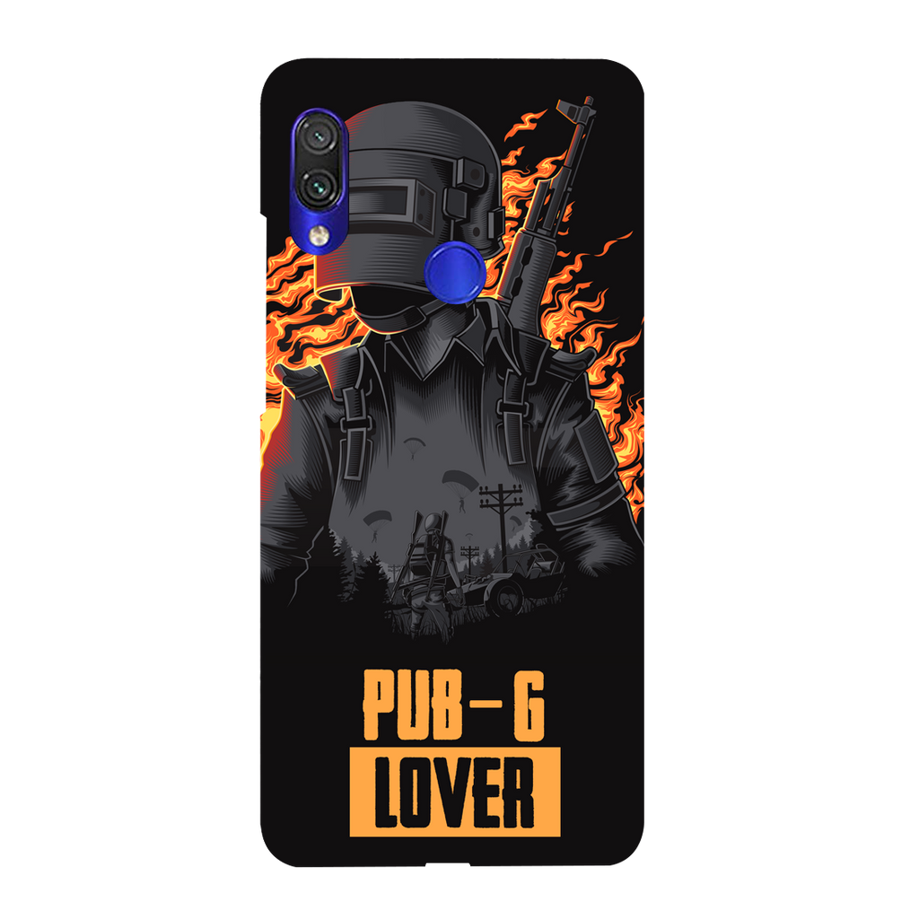 PUBG Lover Redmi Y3 Mobile Cover