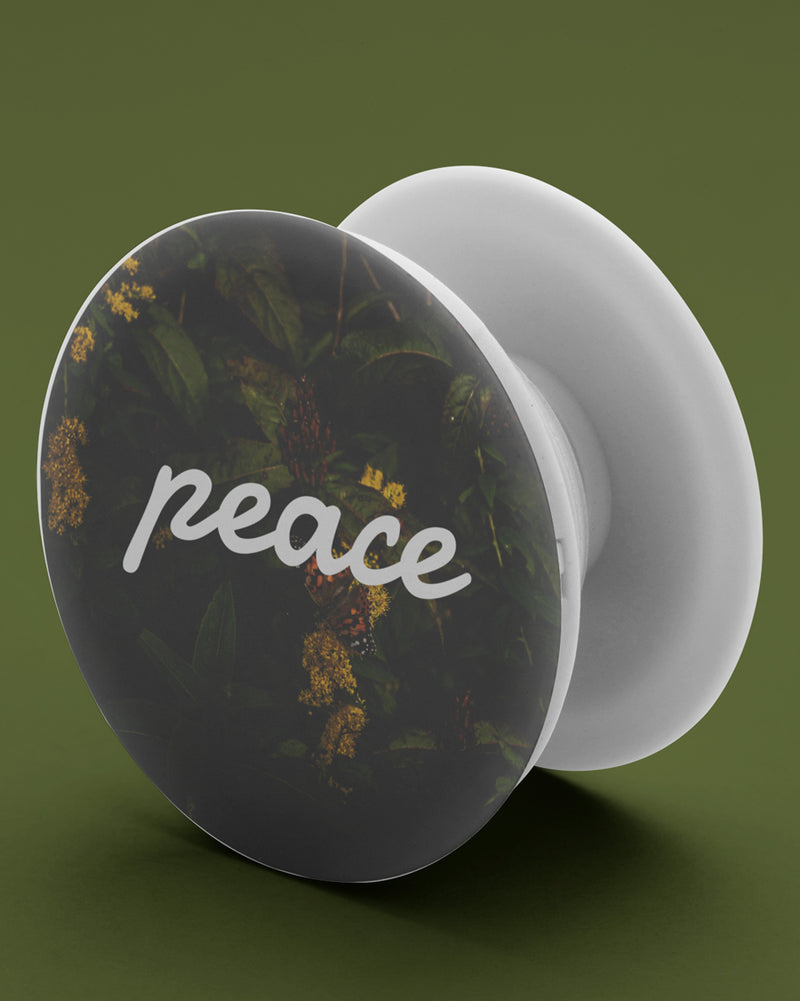 Peace pop-socket