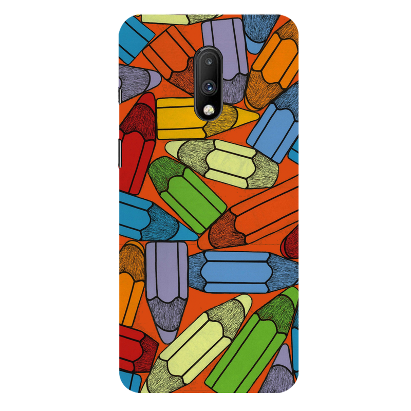 Pencils OnePlus 7 Mobile Cover