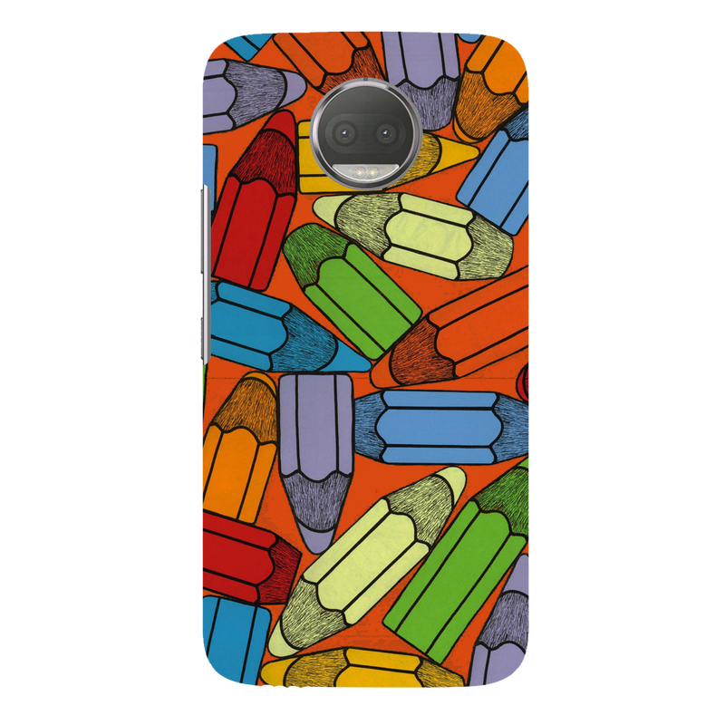 Pencils moto G5s plus Mobile Cover