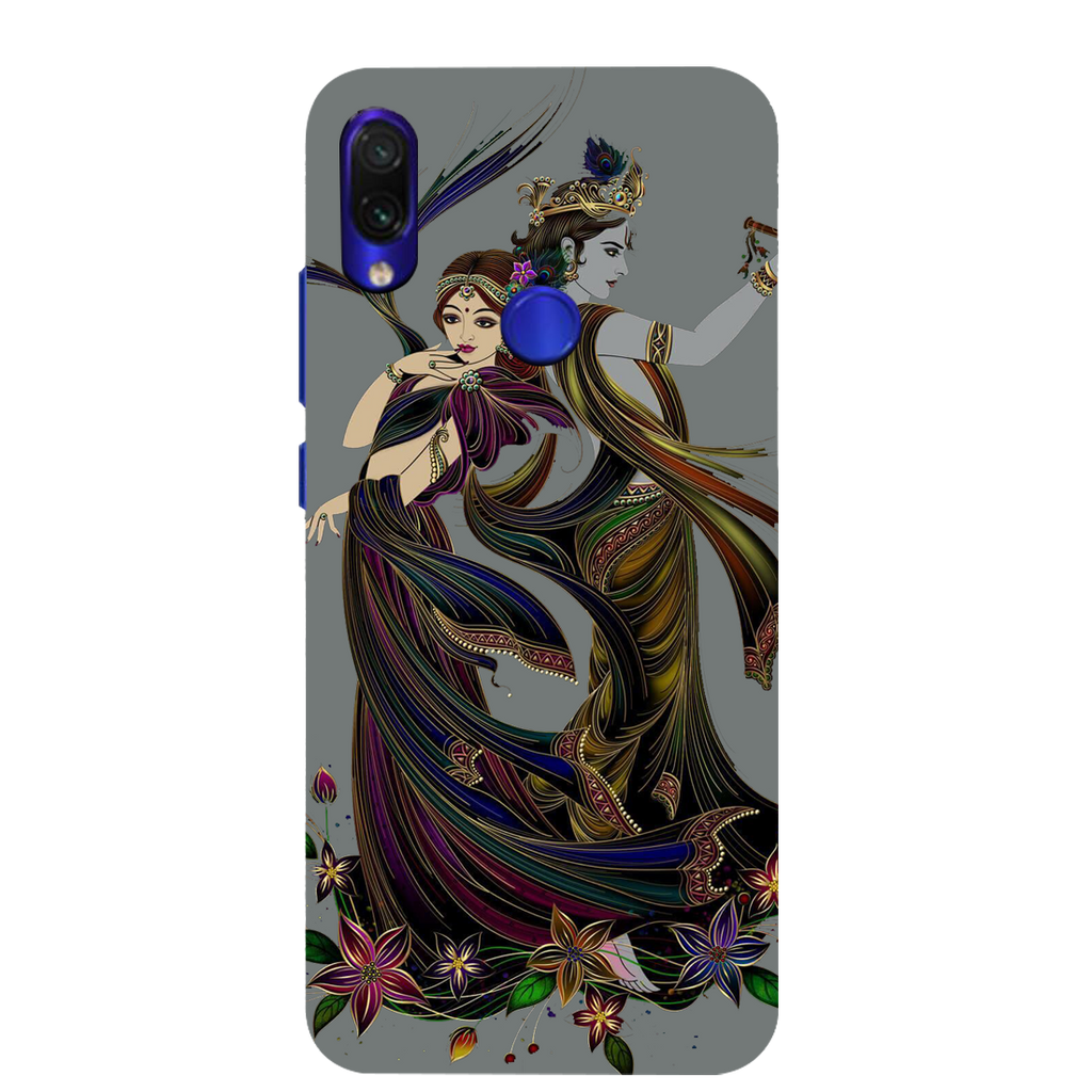 Radhe Krishna Redmi Note 7 Mobile Cover