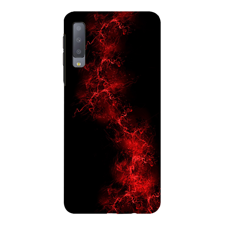 Red light background Samsung A7 Mobile Cover