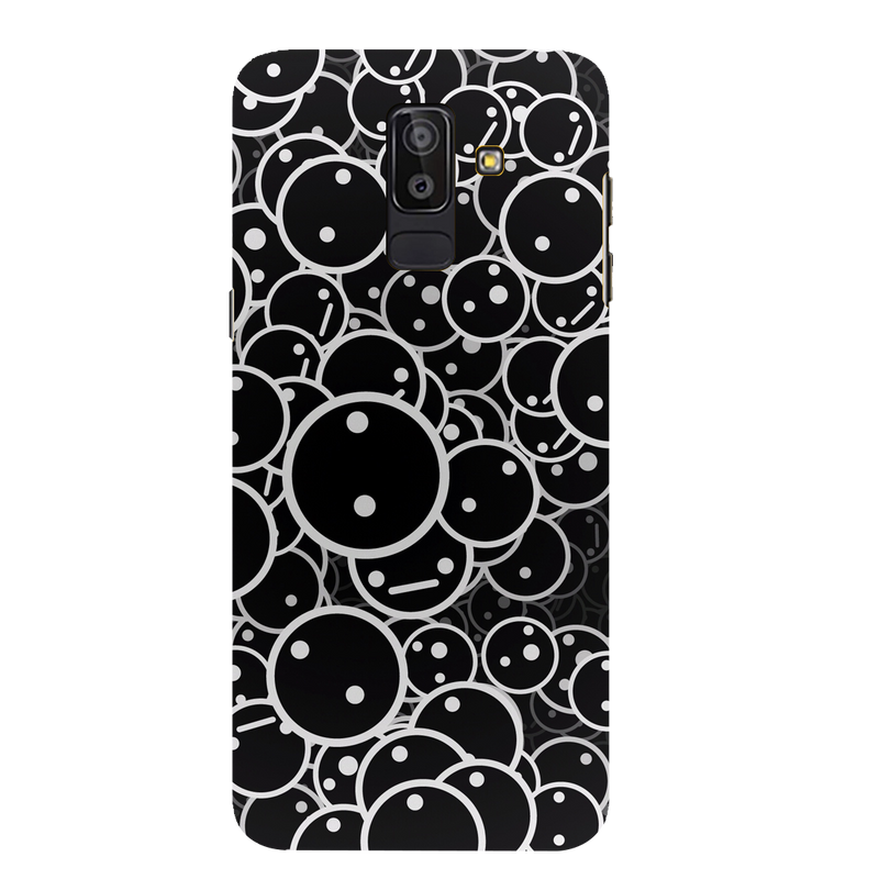 Smilee Samsung J 8 Mobile Cover