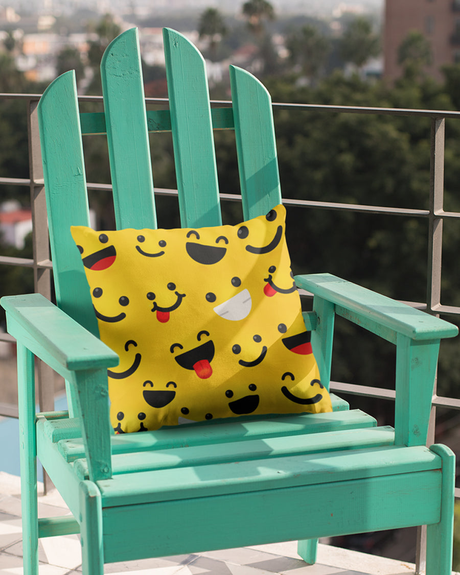 Smiley Cushion Cover