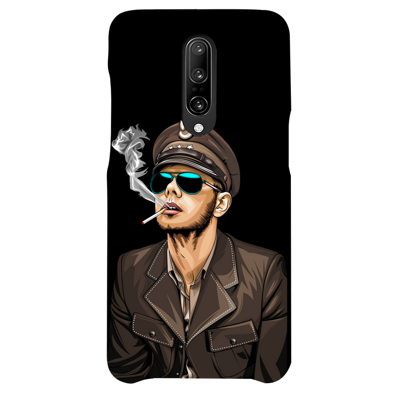Smoking man OnePlus 7 Pro Mobile Cover