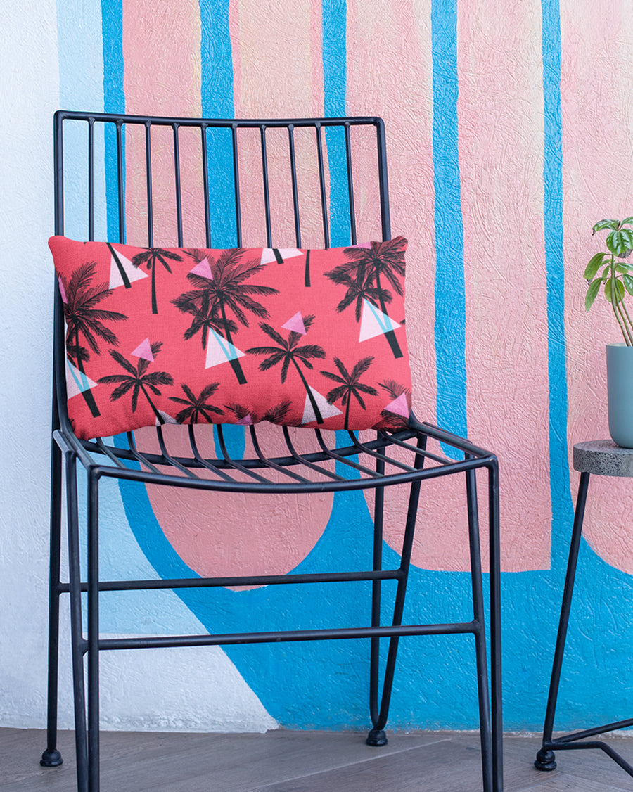 Tropical Pattern Pillow Cover