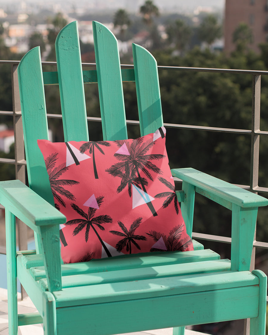 Tropical Pattern Cushion Cover