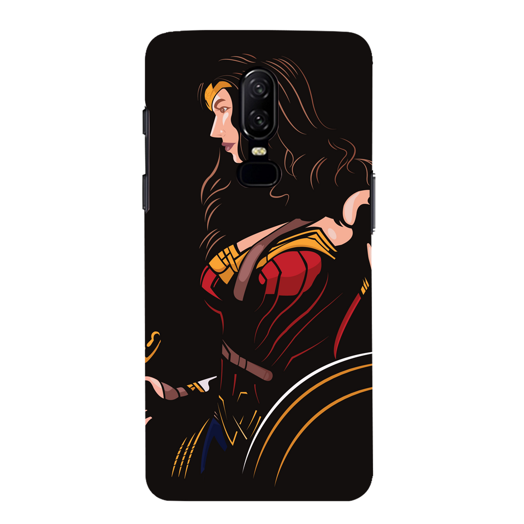 Wonder Women OnePlus 6 Mobile Cover
