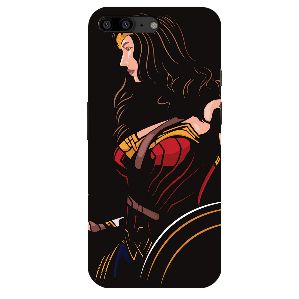 Wonder Women OnePlus 5 Mobile Cover