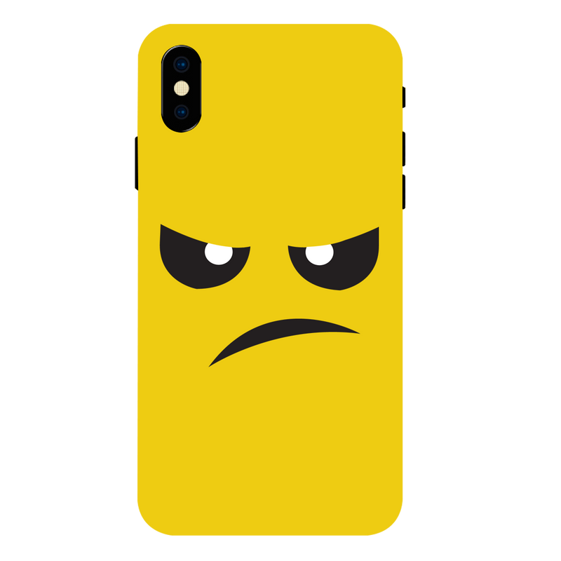 Angry Apple iPhone XS Max Mobile Cover