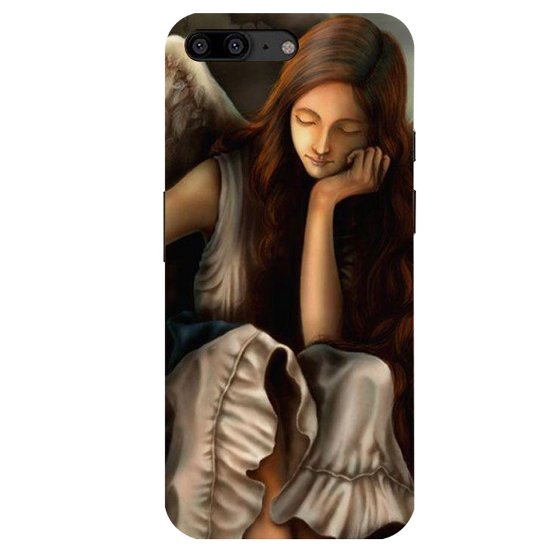 Angel OnePlus 5  Mobile Cover
