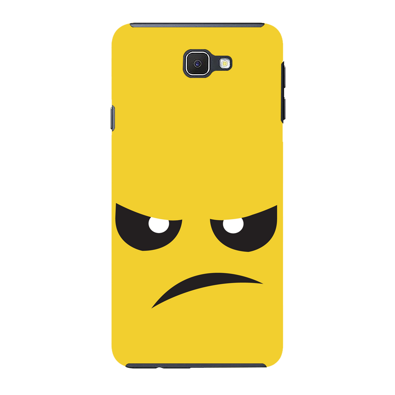Angry face Samsung J7 Mobile Cover