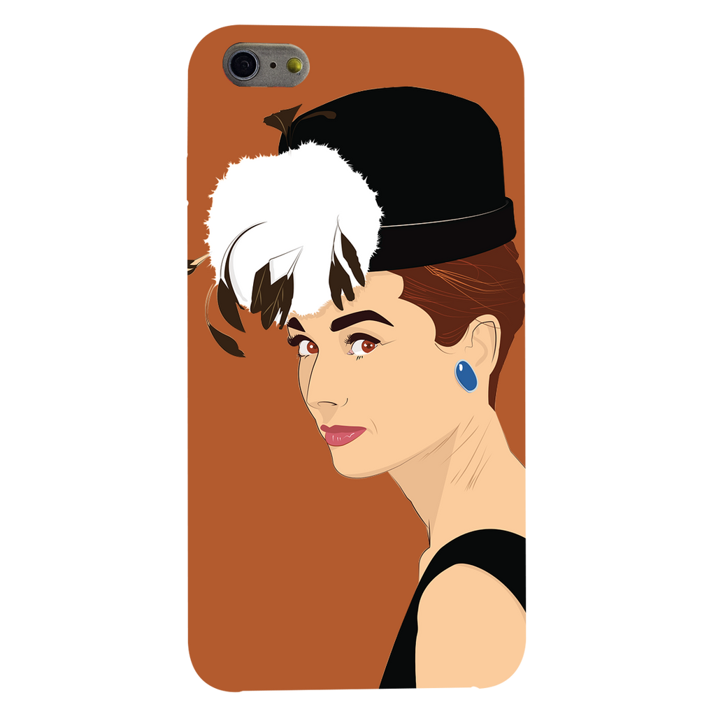 Audrey hepburn Apple iPhone 6 Plus Mobile Cover