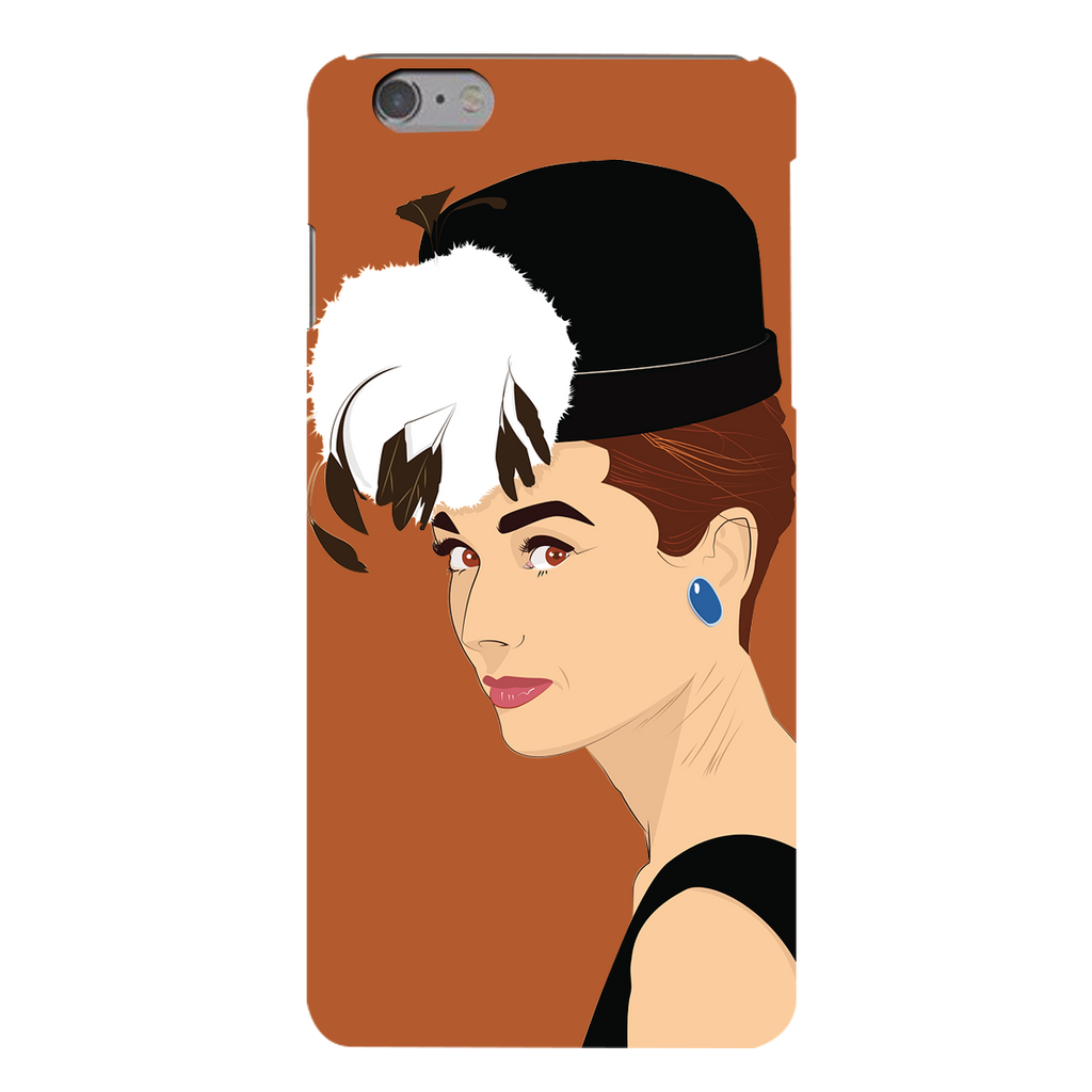 Audrey hepburn Apple iPhone 6s Plus Mobile Cover