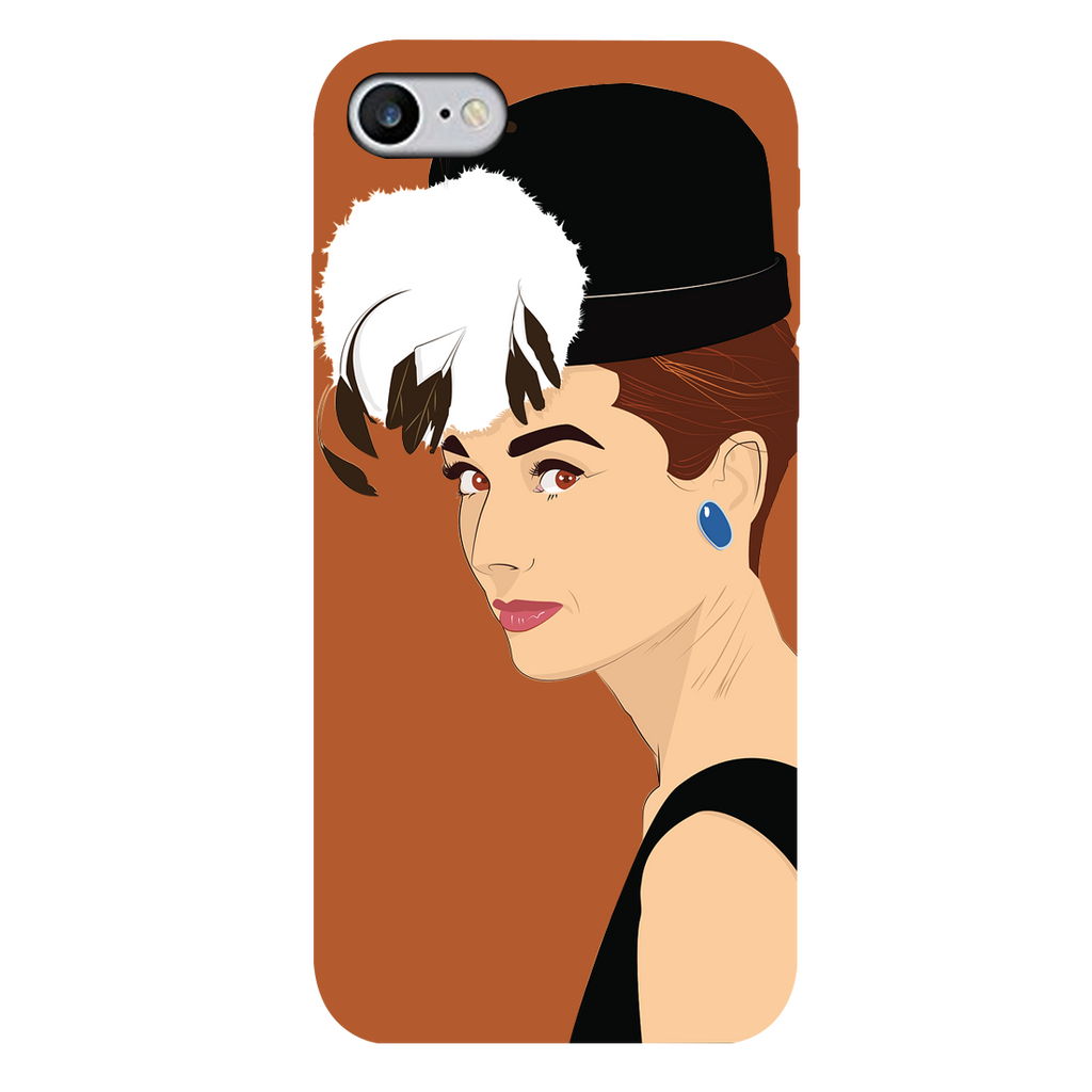 Audrey hepburn Apple iPhone 7 Mobile Cover
