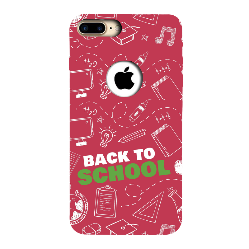 Back to school Apple iPhone 7 Plus Mobile Cover