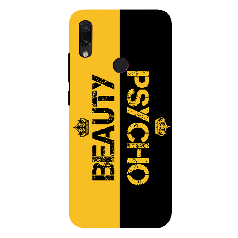 Beauty psycho Redmi 7 Mobile Cover