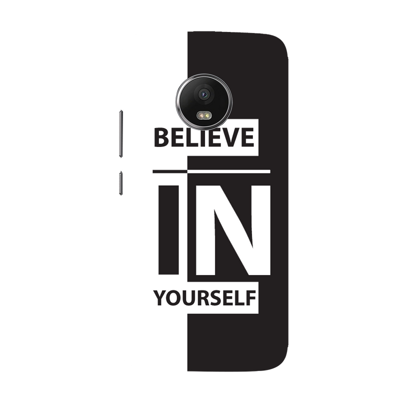 Believe Mobile Cover Moto G5 plus Mobile Cover