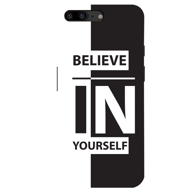 Believe girl OnePlus 5  Mobile Cover