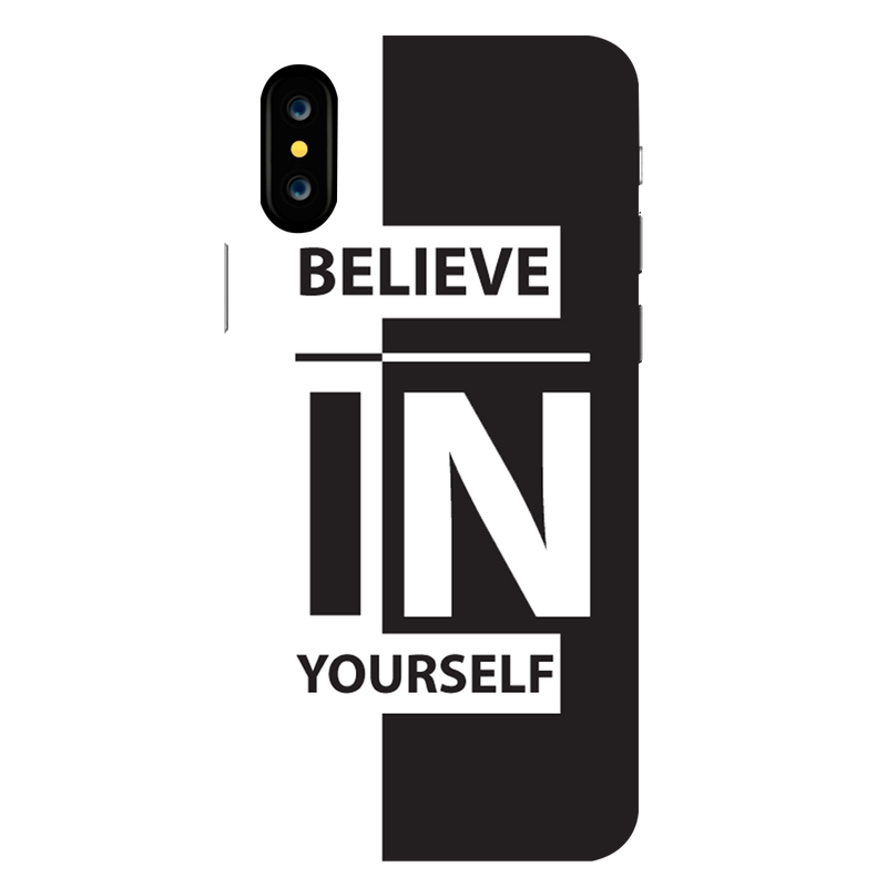 Believe Apple iPhone X Mobile Cover