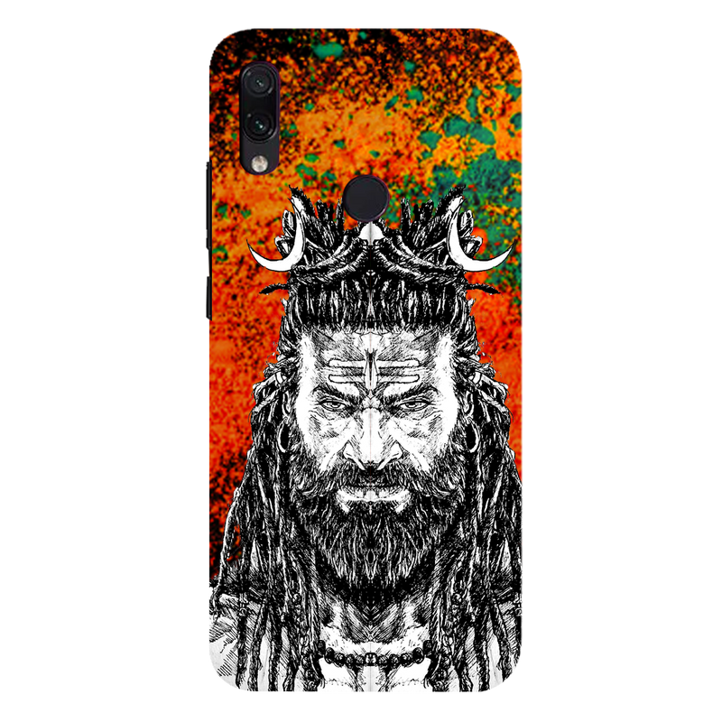 Bhole nath Redmi 7 Mobile Cover