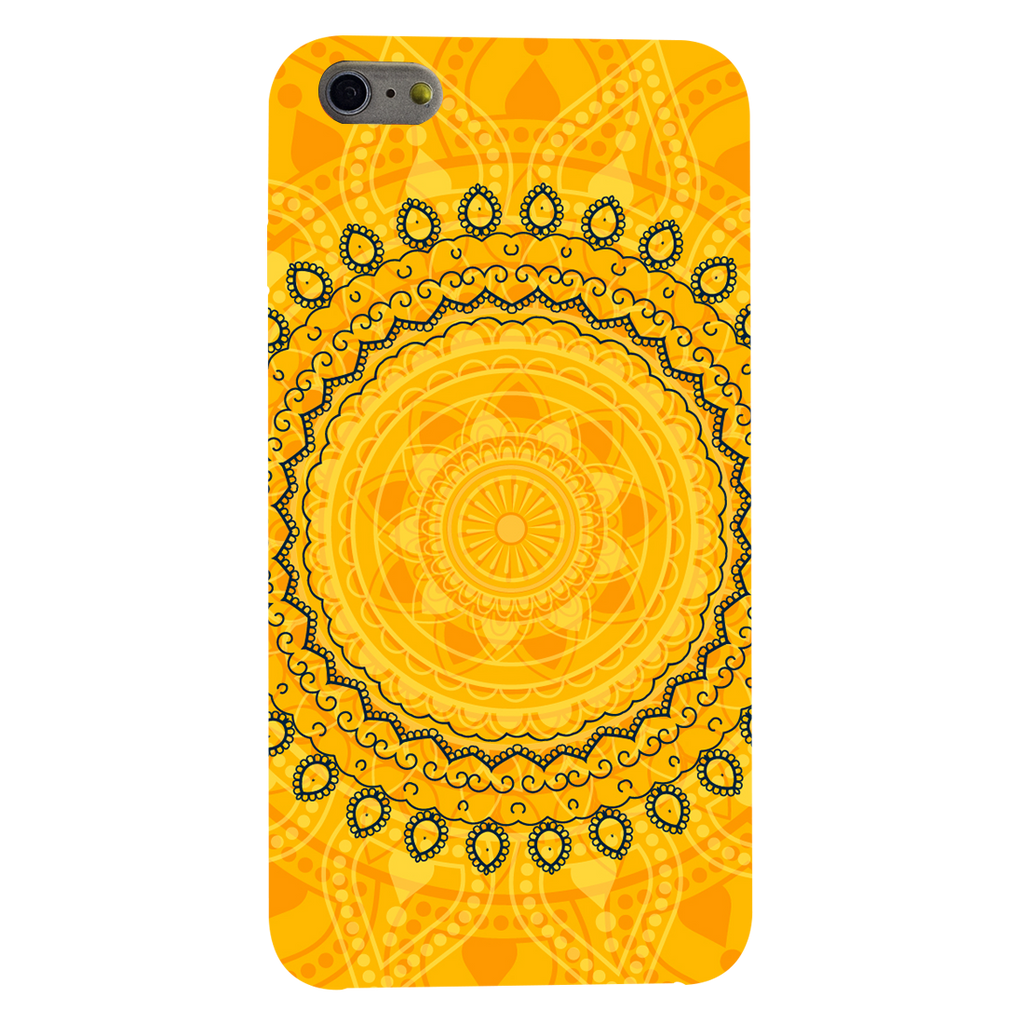 Circular Pattern Apple iPhone 6 Plus Mobile Cover