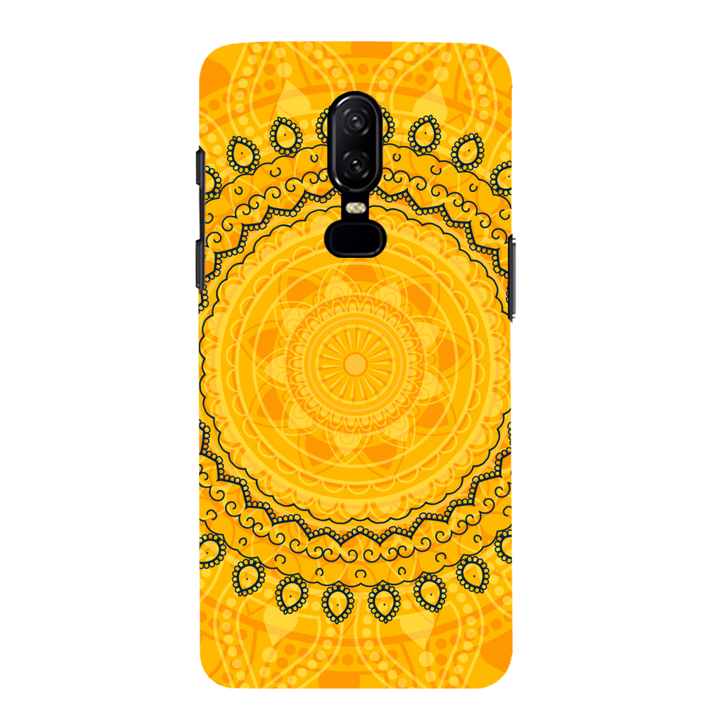 Circular Pattern OnePlus 6 Mobile Cover