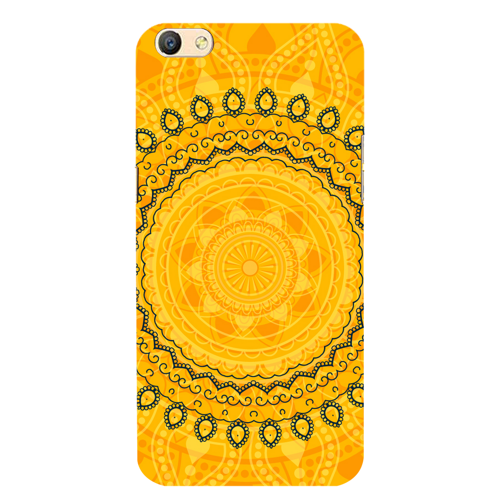 Circular pattern Oppo F3 Plus Mobile Cover