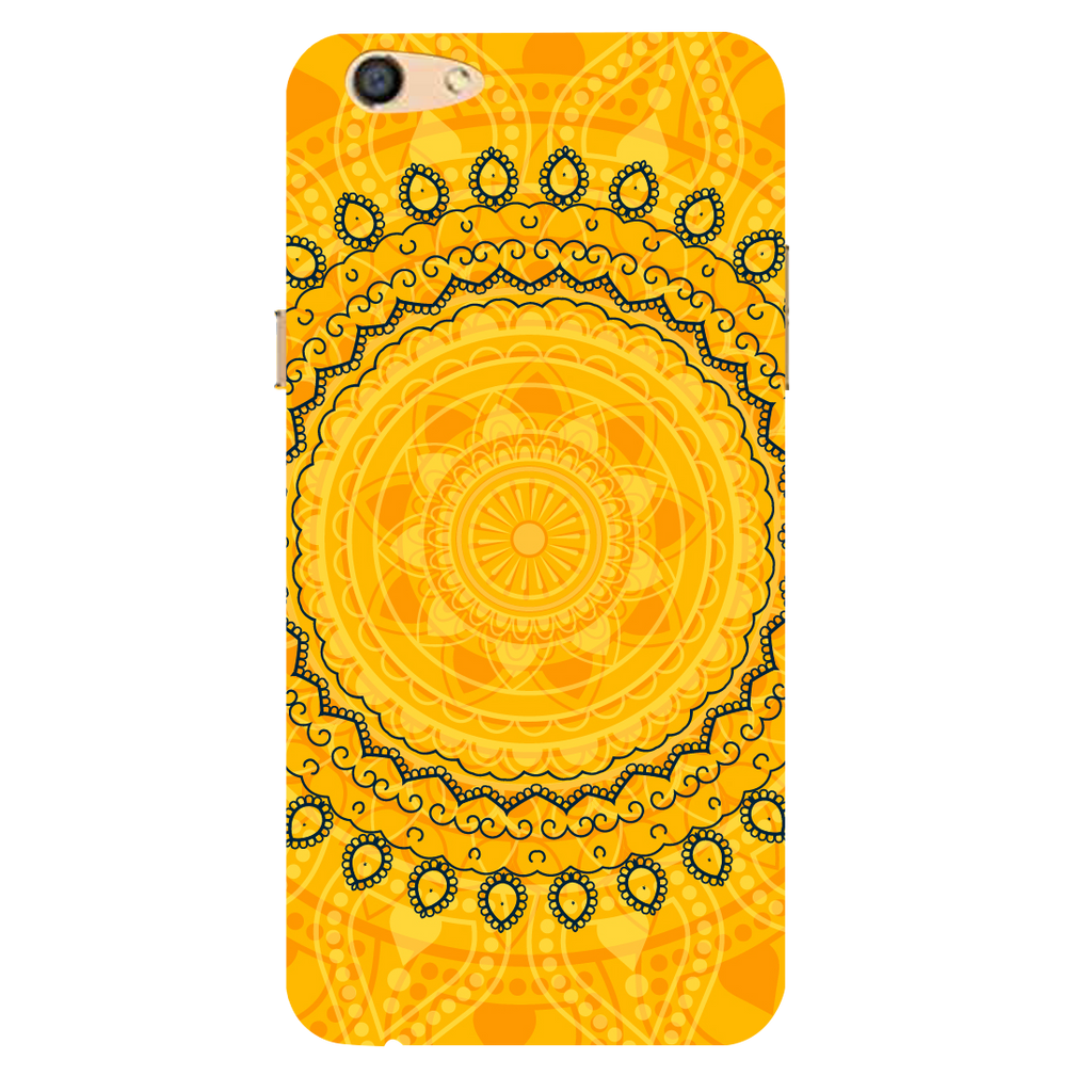 Circular pattern Oppo F3 Mobile Cover
