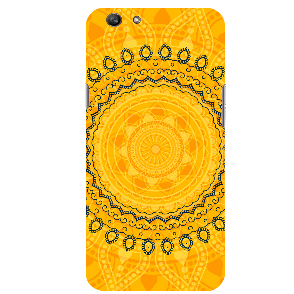 Circular pattern Oppo F1s Mobile Cover