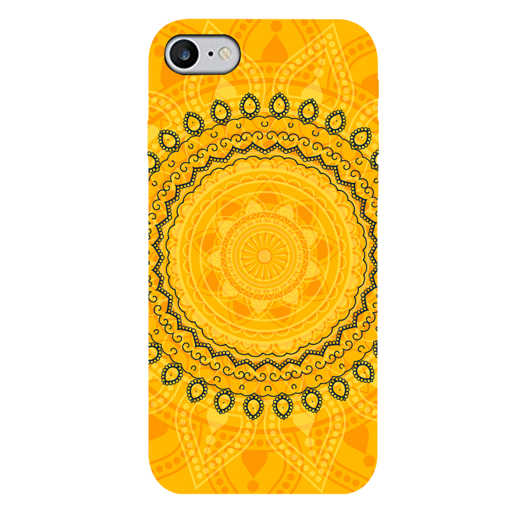 Circular Pattern Apple iPhone 7 Mobile Cover