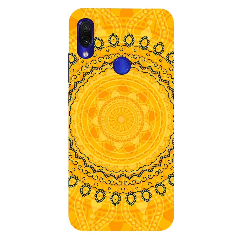 Circular Pattern Redmi Note 7 Pro Mobile Cover
