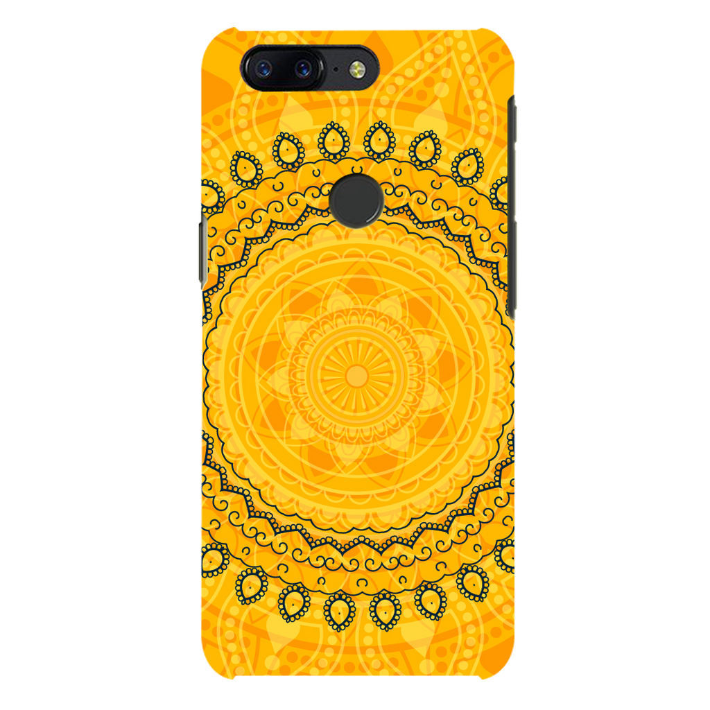 Circular Pattern OnePlus 5T Mobile Cover