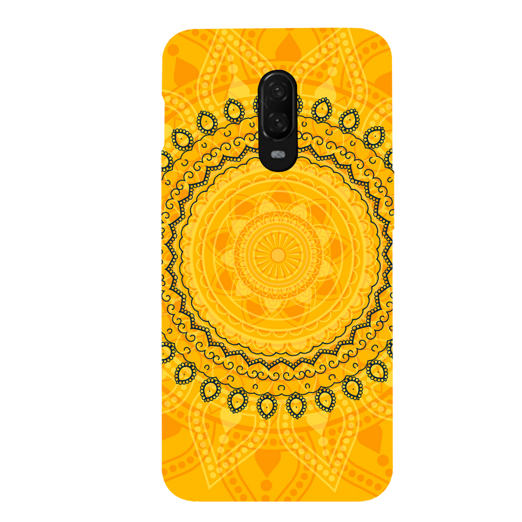 Circular Pattern OnePlus 6T Mobile Cover