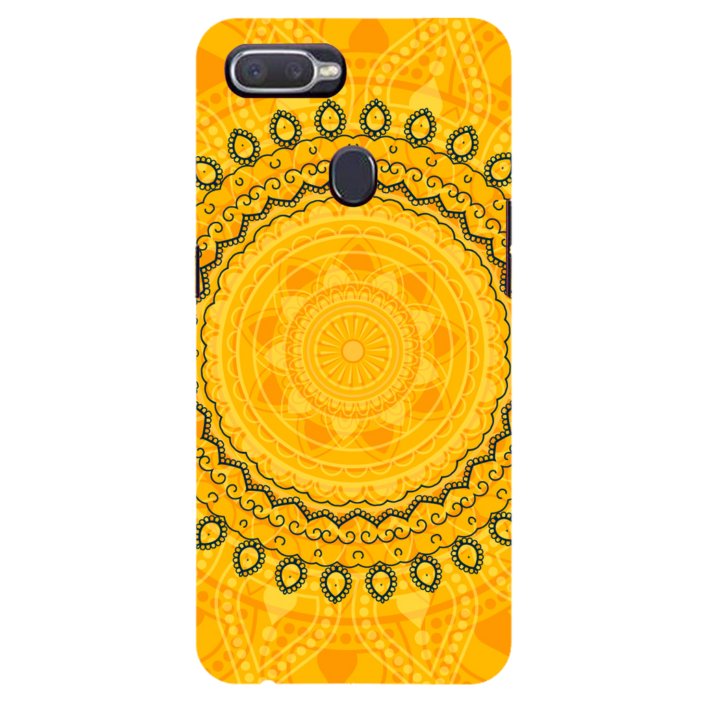 Circular pattern Oppo F9 Pro Mobile Cover