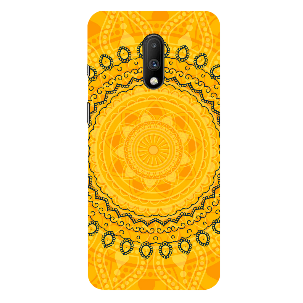 Circular Pattern OnePlus 7 Mobile Cover