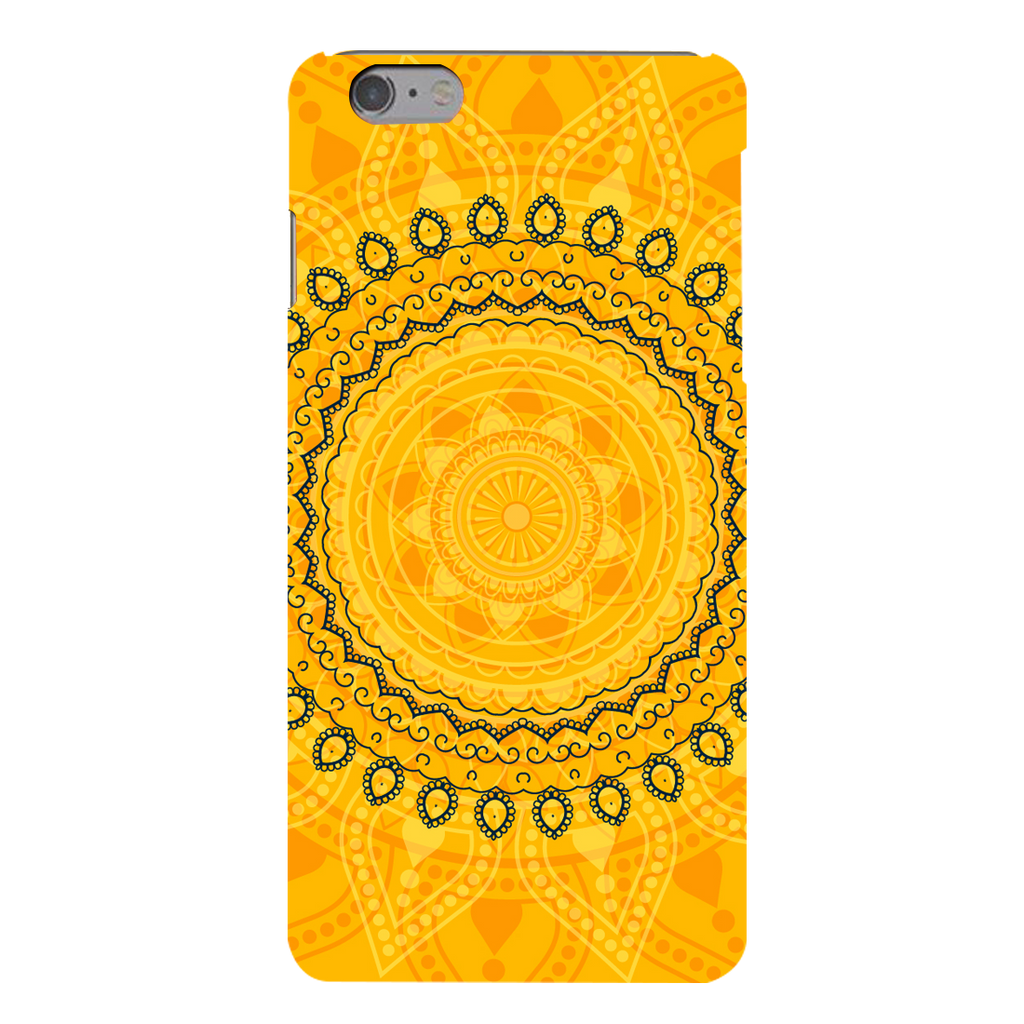 Circular Pattern Apple iPhone 6s Plus Mobile Cover