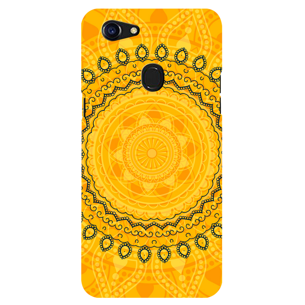 Circular pattern Oppo F5 Mobile Cover
