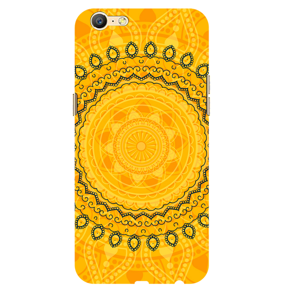Circular pattern Oppo A71 Mobile Cover